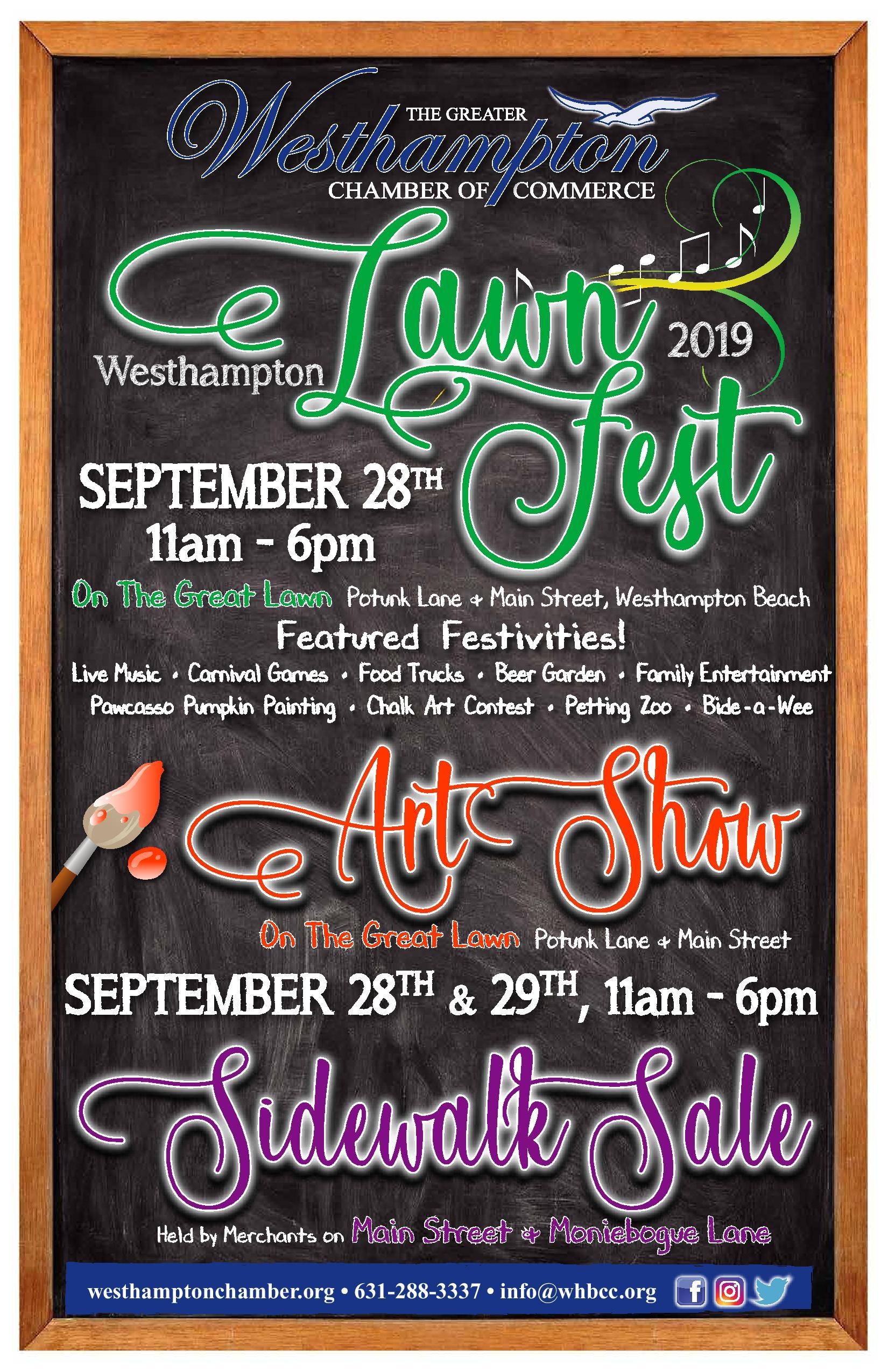 Lawn Fest Poster