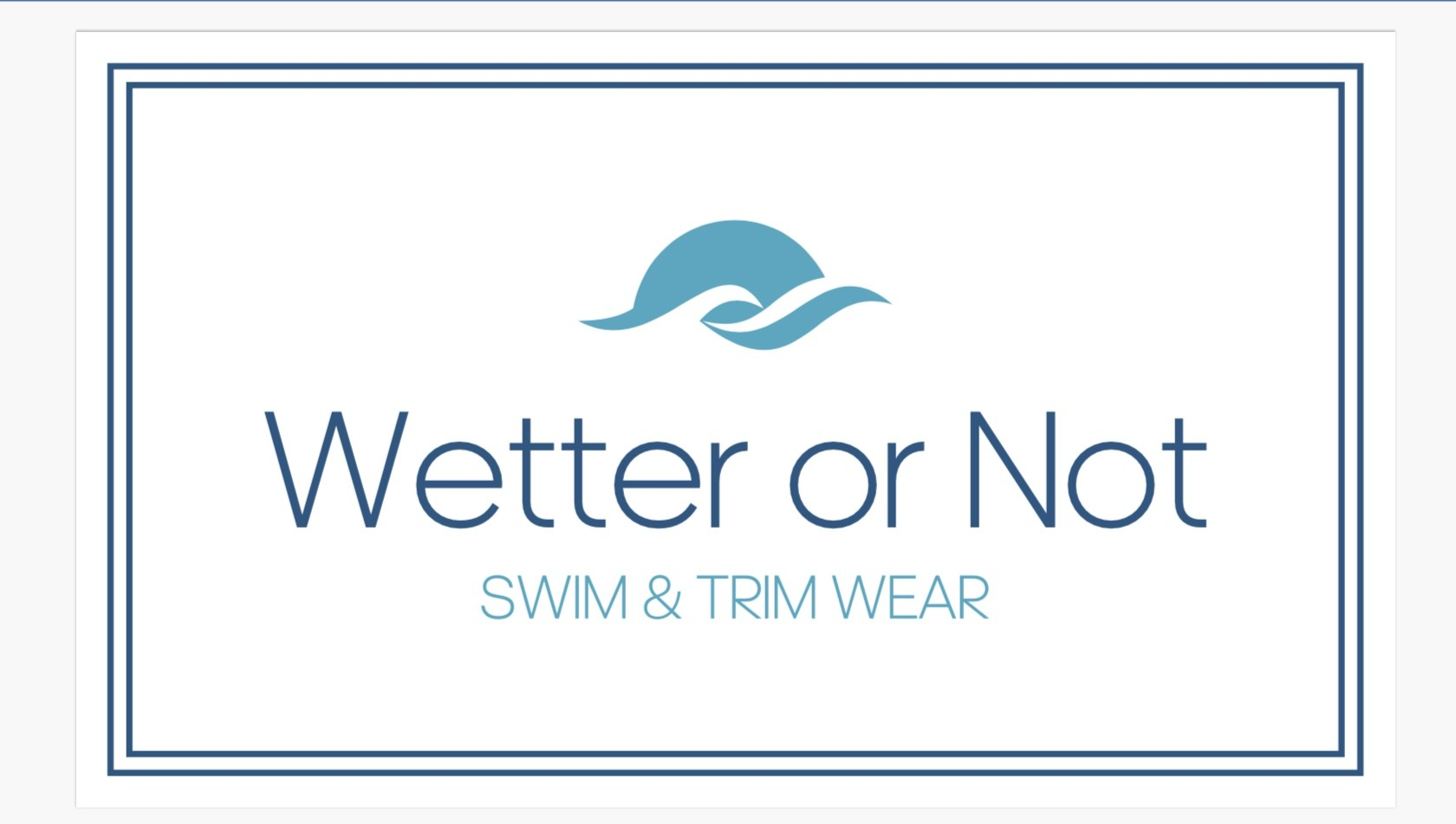 wetter or not logo